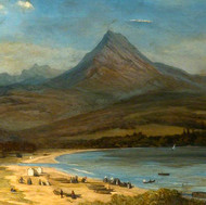 Goatfell from Brodick, 1899