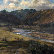 Landscape with river, 1877