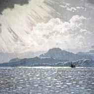 Veiled sunshine, Isle of Arran,