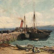 Brodick Pier, Arran (1880)
