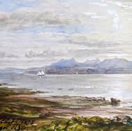 Arran from Skelmorlie, 1873