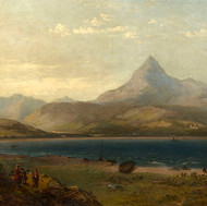 'A View of Goatfell from Brodwick Bay'