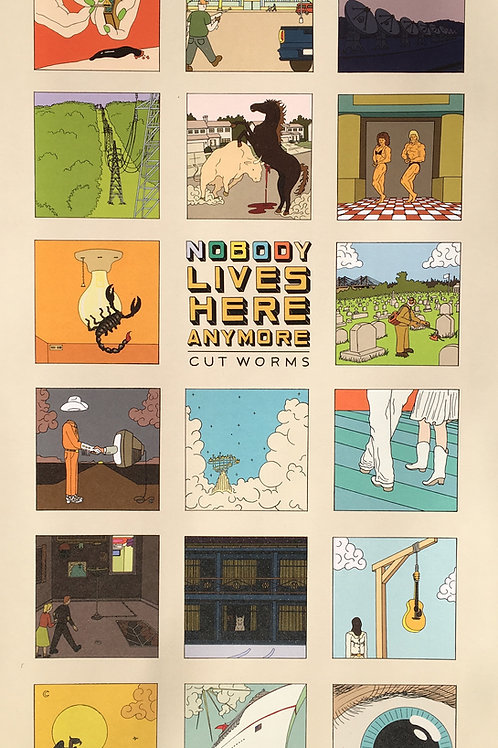 """1st Edition """"Nobody Lives Here Anymore"""" Signed & Editioned Posters"""