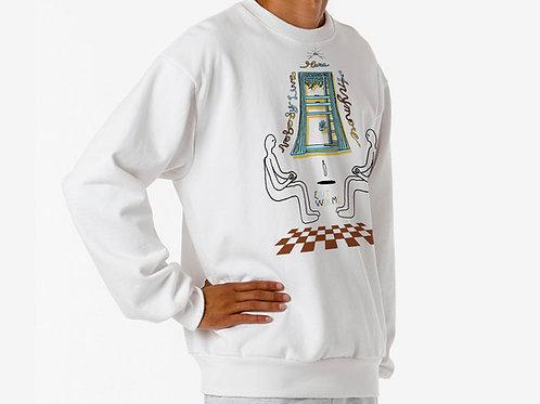 Levitators Sweatshirt in White