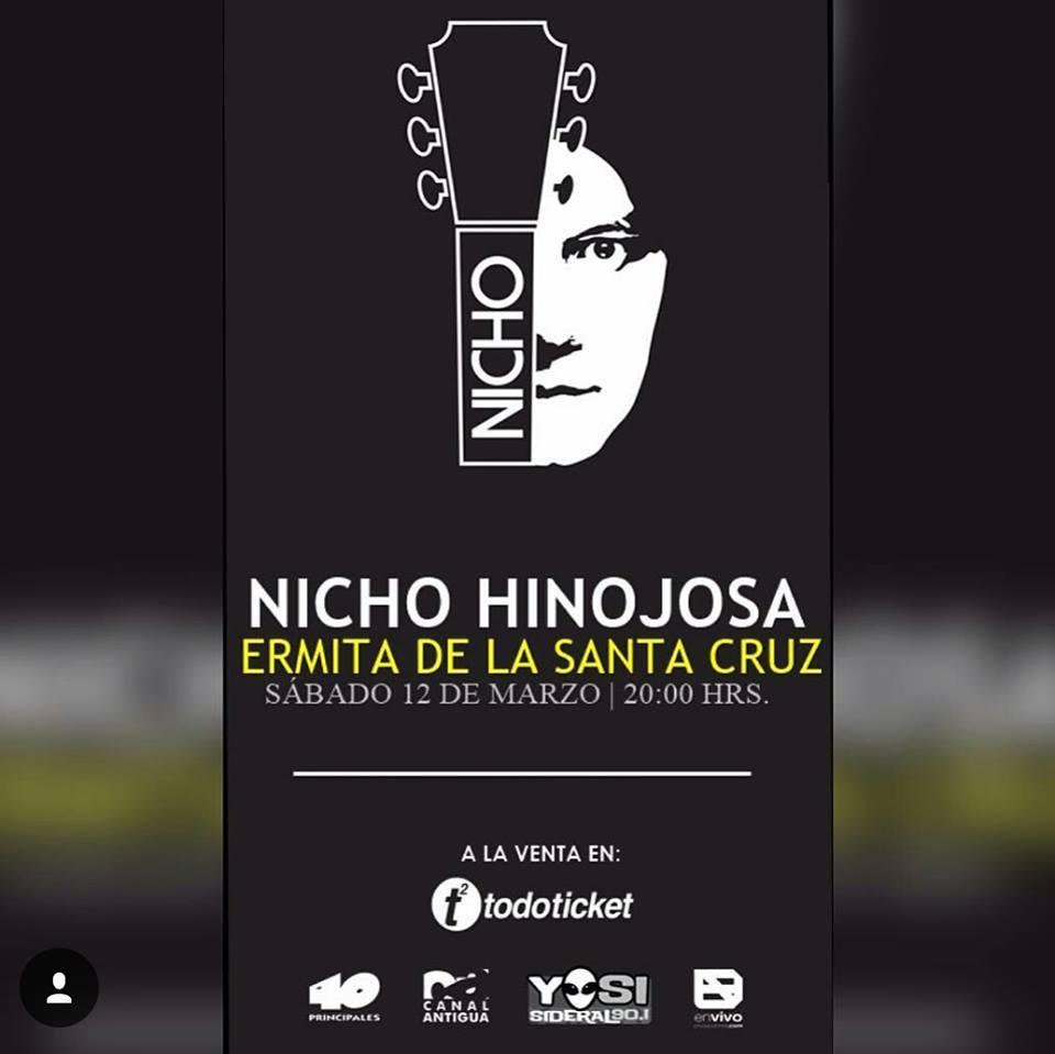 Nicho Hinojosa en Guatemala
