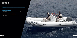 Tiger Marine manufactures the highest quality rigid inflatable boats in the world. Using the best fabrics and parts to give boaters industry best value. Inflatable boat, inflatable, boat, rigid, high quality, manufacturer, boat manufacturer, CE, standards, warranty, value, hypalon, pvc, csm, fabric, ISO-6185, 53/2013/EU, welding, technology, thermo-bonding, warranty, seams, performance, outboard, rigid boat