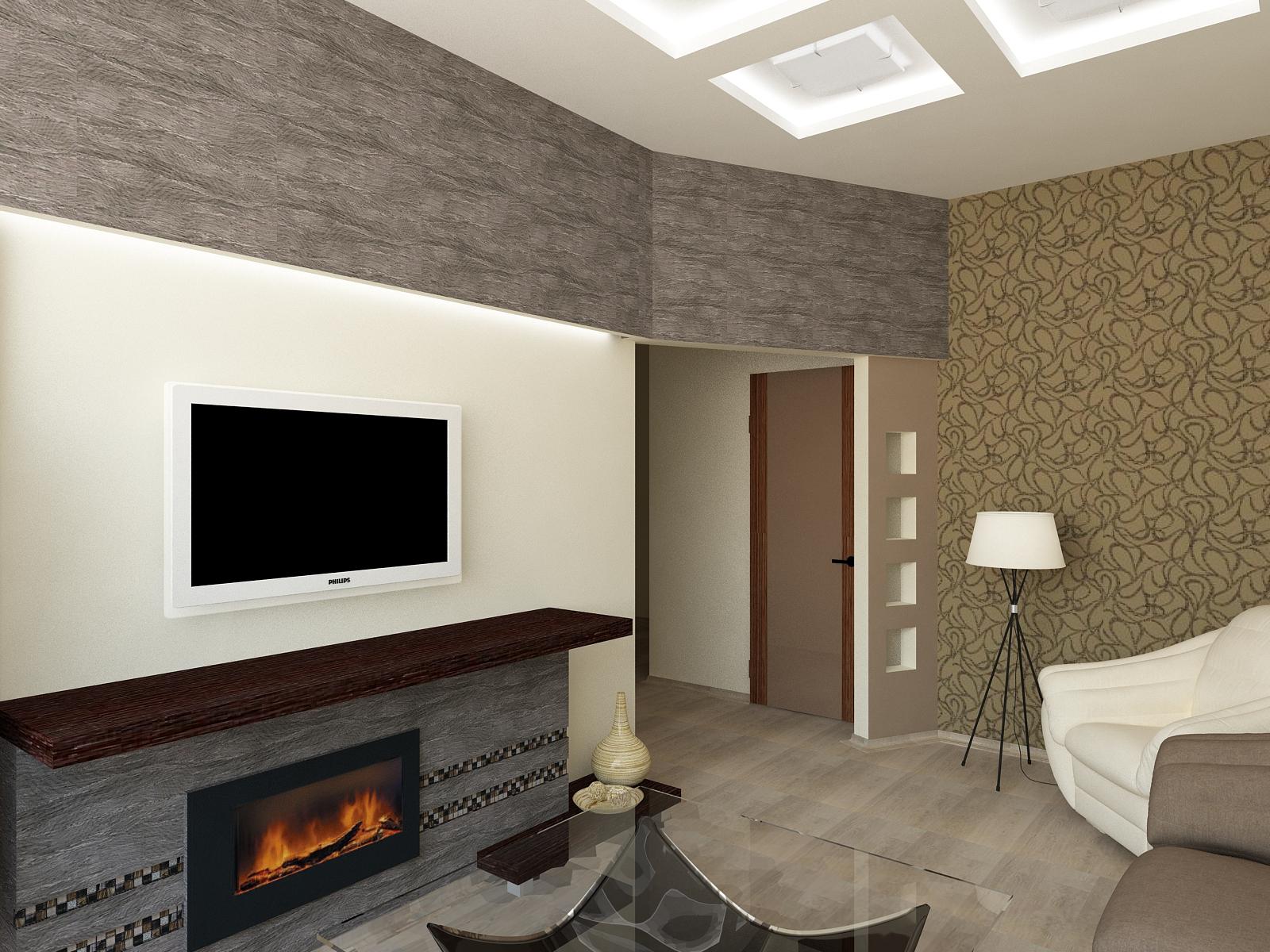 IDEAL дизайн - интерьер зала