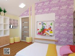 IDEAL дизайн - интерьер детской