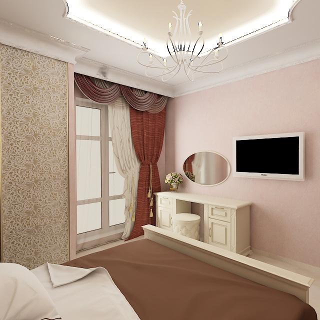 IDEAL дизайн - интерьер спальни