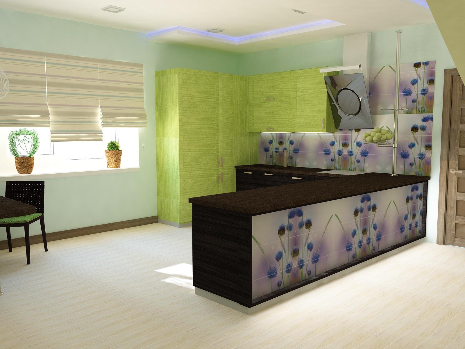 IDEAL дизайн - интерьер кухни