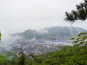 雨の皇踏山(おうとざん)ハイキング!