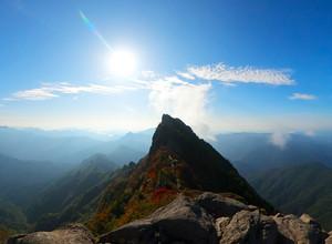 西日本最高峰の石鎚山(いしづちさん)へ行く