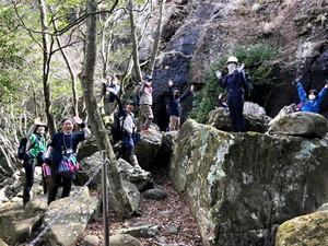 石の島ハイキング開催しました!