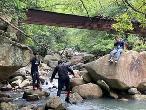石の島ハイキングコース整備