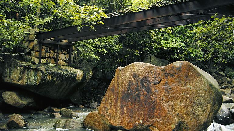 大阪城の残石をたどる 石の島ハイキング