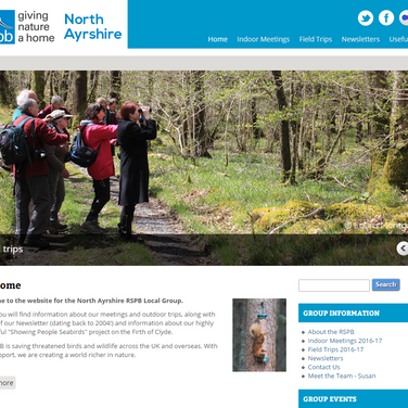 North Ayrshire RSPB Group