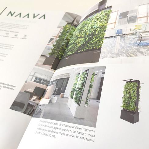diseño editorial catalogo AISTEC jardin