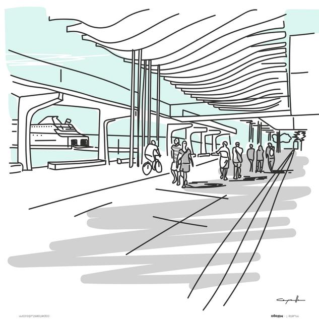 Ilustración muelle 1