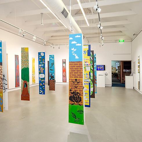 The Return of Poles of Art