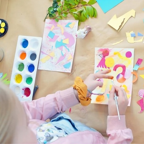 Botanical Colour Workshop for Kids with Artist Leah Grant