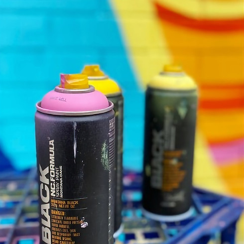 Aerosol Colour & Pattern Workshop for Teens with Artist Leah Grant