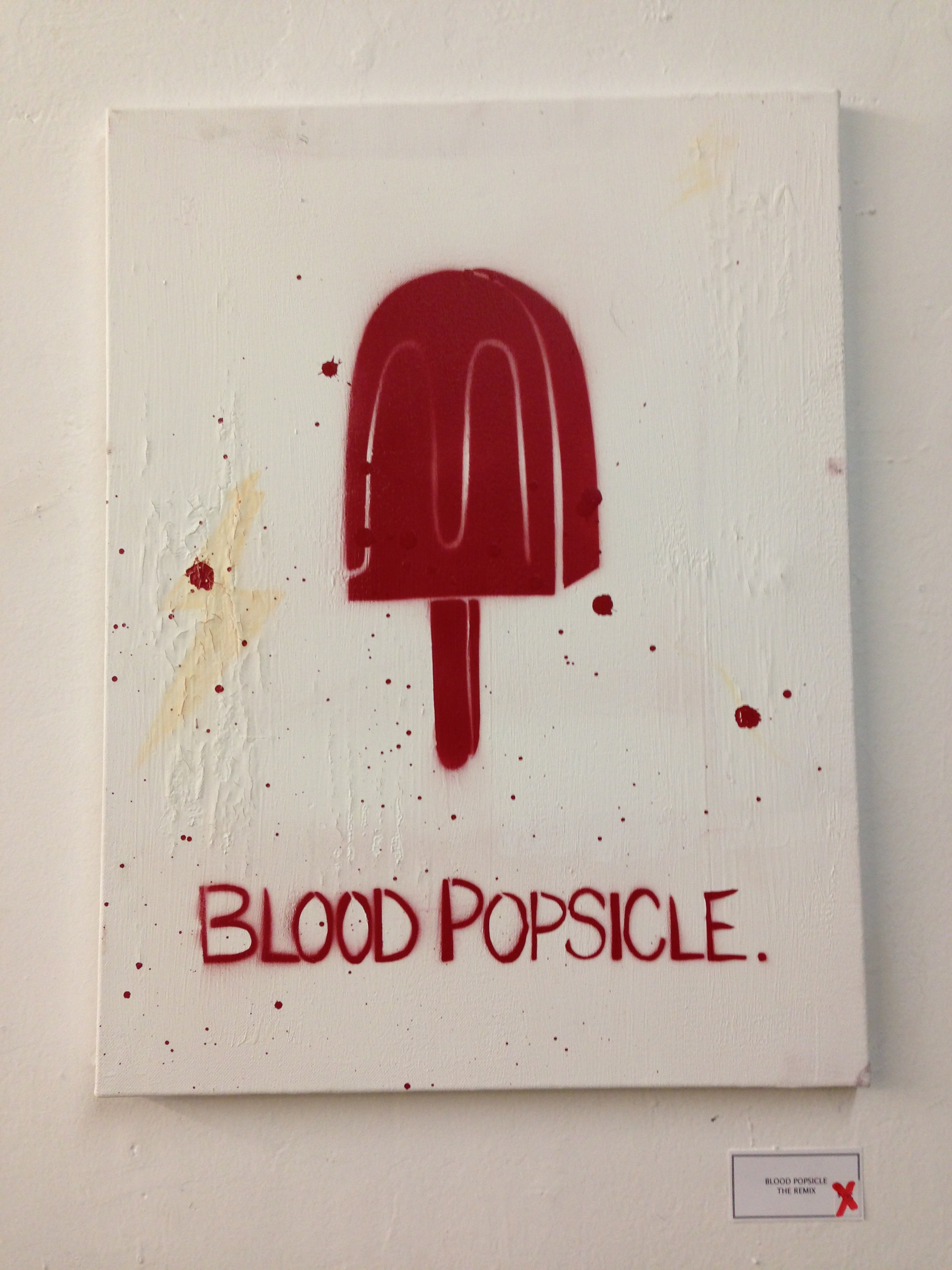 blood popsicle