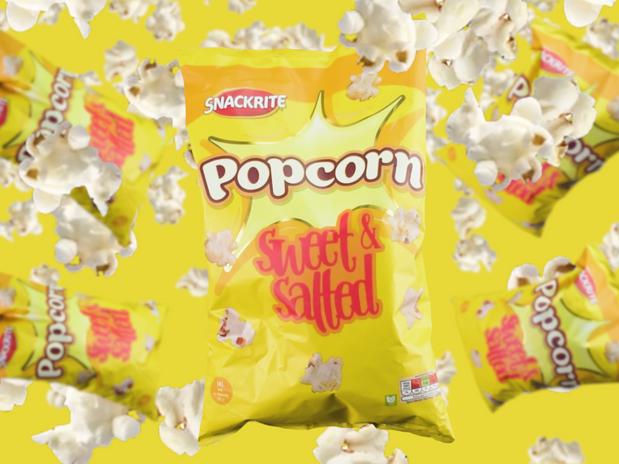 SNACKRITE Popcorn Social Media Advert