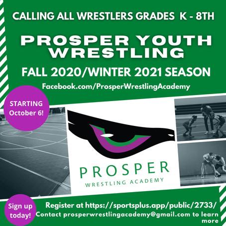 Prosper Youth Wrestling