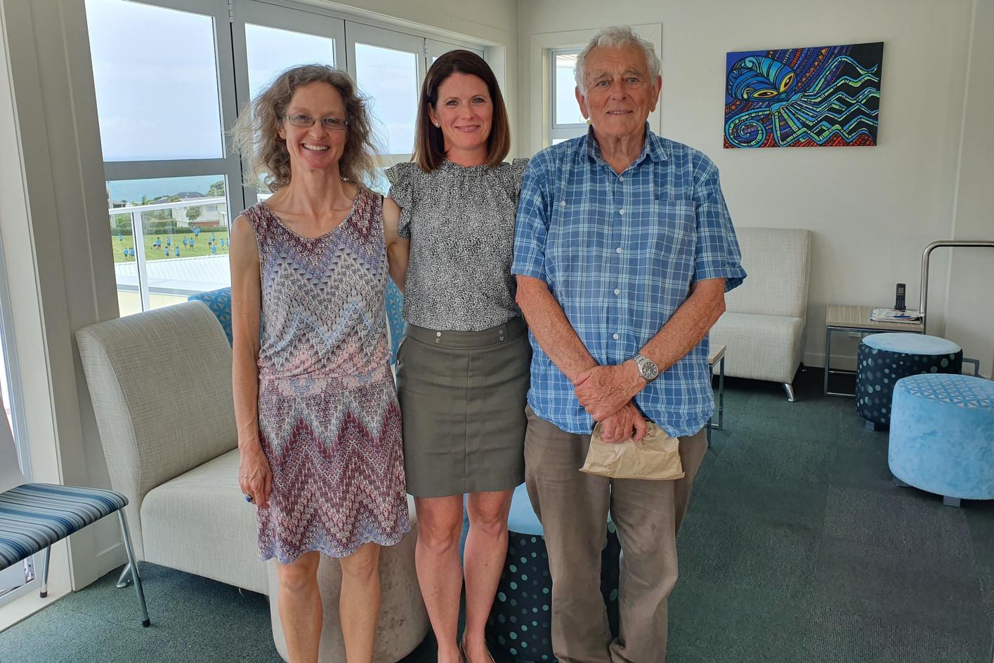 With Des Hunt & Sally Sutton