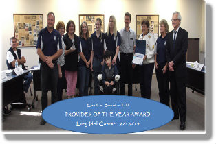 Provider Agency of the Year