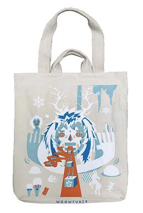 MX11008 五高怪帆布袋 Wowfuner Cotton Tote Bag