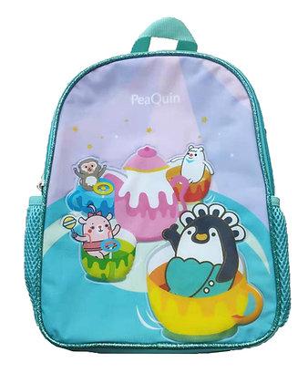 MX6001 皮寬茶樂園單層書包 PeaQuin S-Backpack