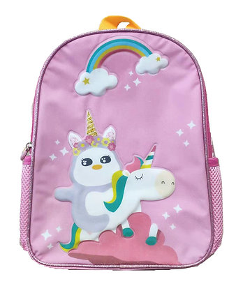 MX6002 彩虹花子單層書包 Flora Unicorn S-Backpack