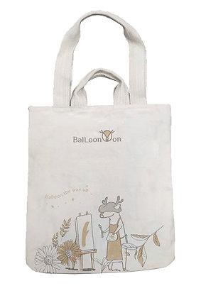 MX11003 白鹿夢帆布袋 BailoonMon Paint Cotton Tote Bag