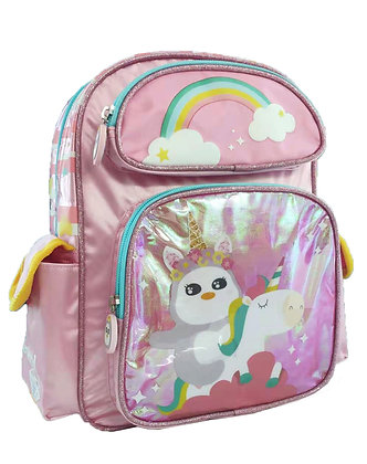 MX4002 彩虹花子雙層書包 Flora Unicorn D-Backpack