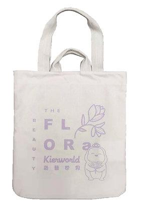 MX11009 花子帆布袋 Flora Cotton Tote Bag