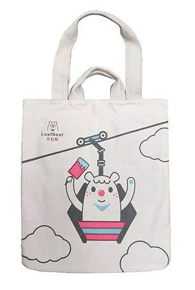 MX11007 不想熊帆布袋 Loadbear Cotton Tote Bag