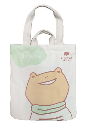 MX11002 泥好蛙帆布袋 Lihowow Cotton Tote Bag