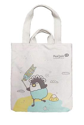 MX11010 皮寬帆布袋 PeaQuin Cotton Tote Bag