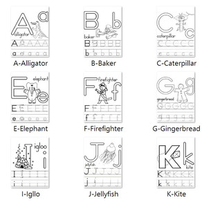 A-Z Colouring Page (update 202101)