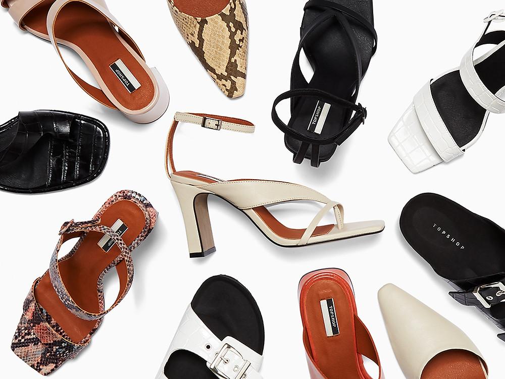 Linha de calçados vegana - Topshop