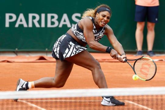 Serena Williams fighter