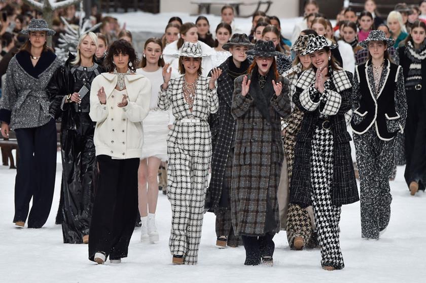 Encerramento desfile Chanel Inverno 2020