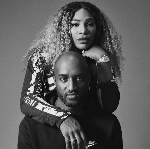 Serena Williams e Virgil Abloh