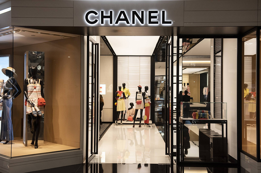Fachada loja Chanel