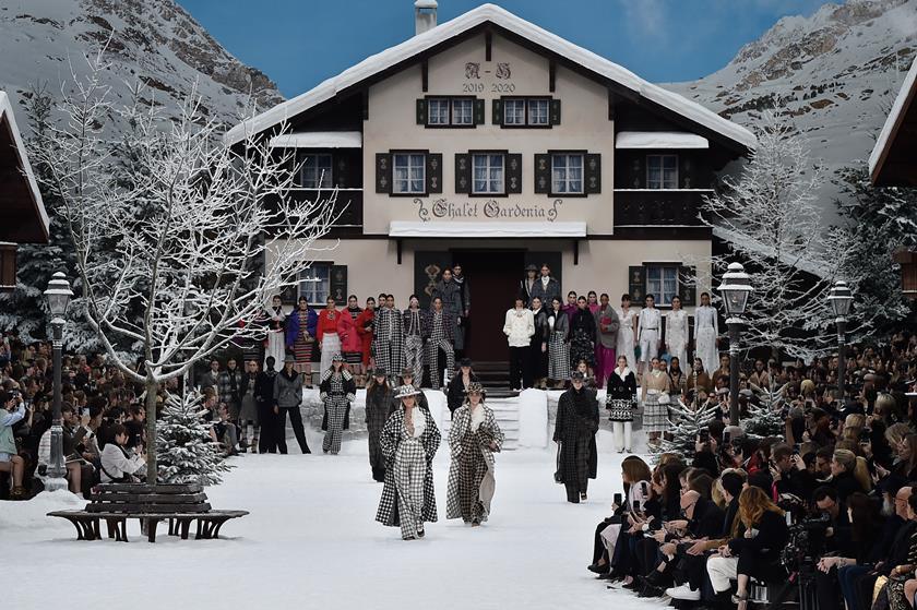 Chanel Desfile Inverno 2020