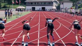 Jenter 14 år 60->100 meter