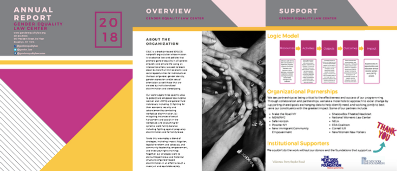 Gender Equality Law Center Annual Report 2018