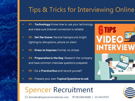 Tips & Tricks for Interviewing Online