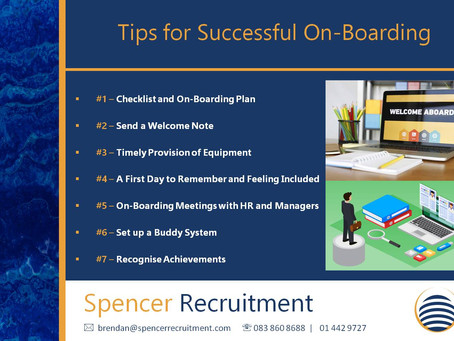 Tips for Successful On-Boarding